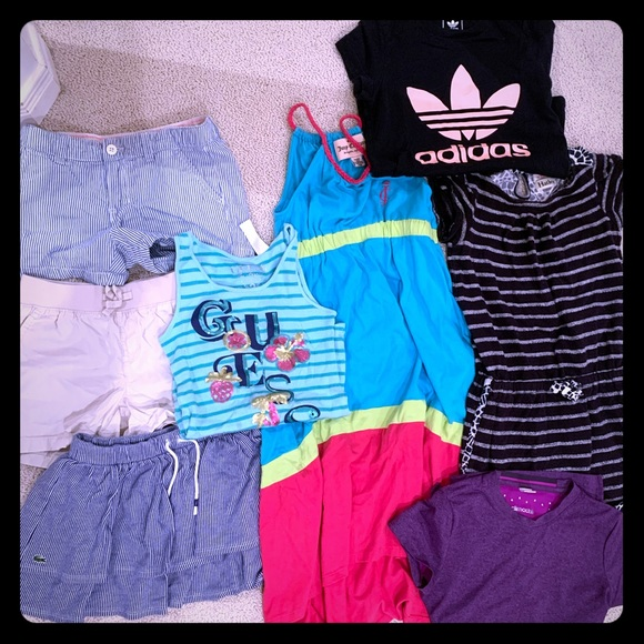 Lacoste Other - Lot of girls sz 7-9 summer clothes